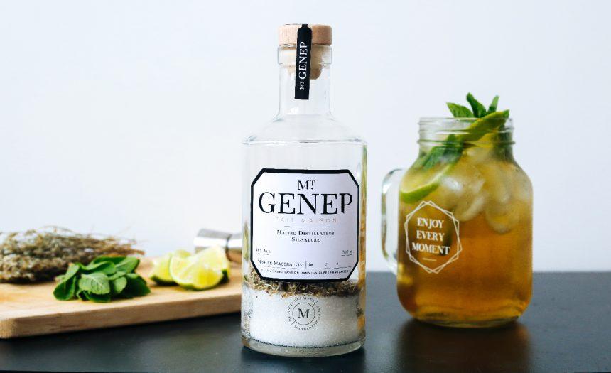 Recette de la liqueur de genepi m langes des alpes for Cocktail genepi
